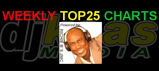 DJ Kaas Media presents Richie B's Weekly top 25